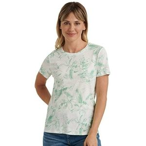 NWT Lucky Brand Essential Printed Crew Neck Tee